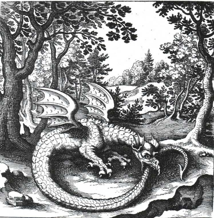 The Ouroboros, Dragon symbolism