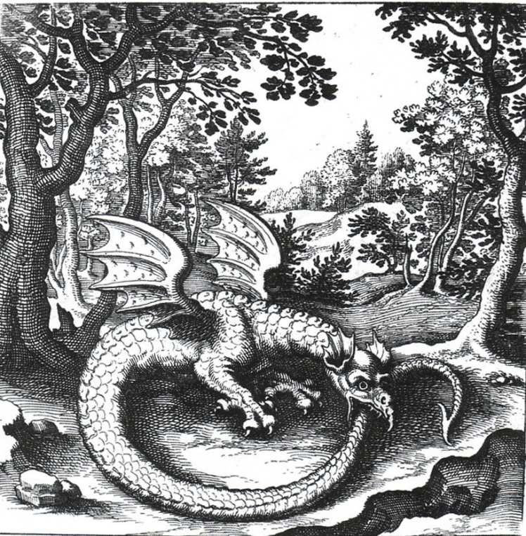 The Ouroboros, Dragon symbolism