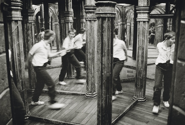 Hall of mirrors, Petrin Hill, Prague. 1998