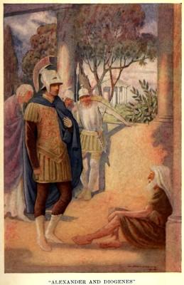 Alexander_visits_Diogenes_at_Corinth_by_W._Matthews_(1914)