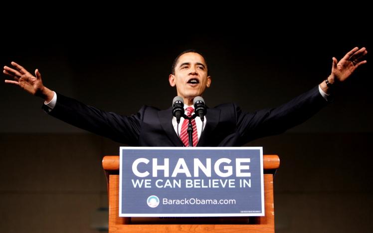 USA - 2008 Elections - South Carolina Primary - Senator Obama at Victory Rally