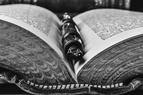 1-open-book-with-fountain-pen-garry-gay